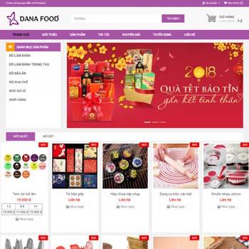 Công ty thực phẩm: Danafood.net