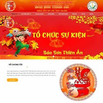 Dịch Vụ múa lân Bảo Sơn Thiên Ấn