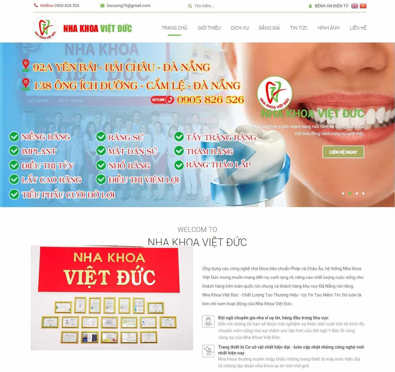 Hệ thống Nha Khoa Việt Đức