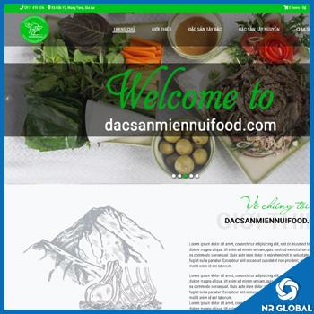 Bàn giao dự án Đặc Sản Miền Núi Food