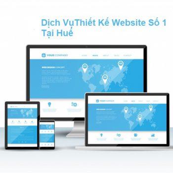 Dịch Vụ Thiết Kế Website Chuyên Nghiệp Tại Huế