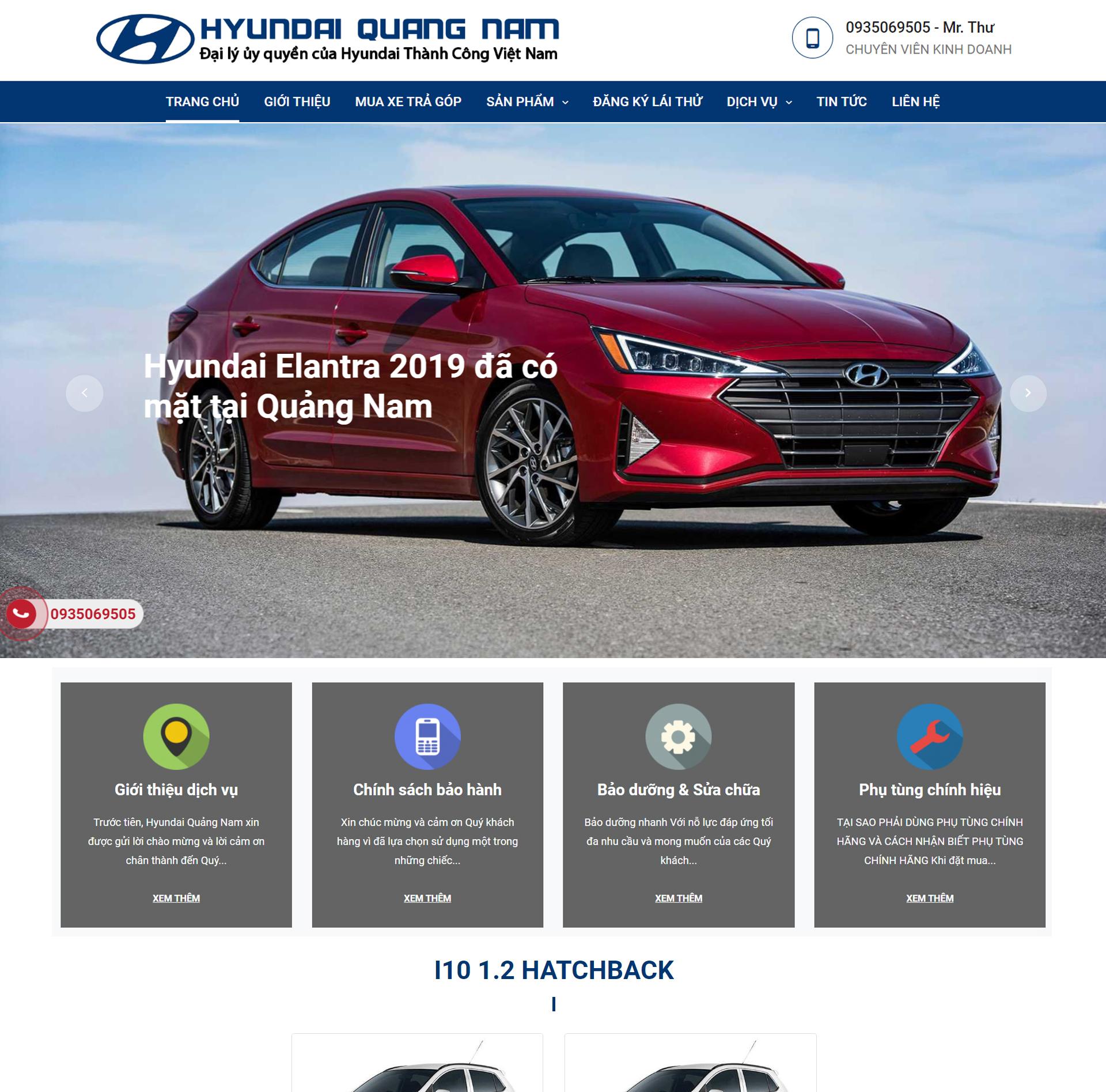 Đại lý Hyundai Quảng Nam