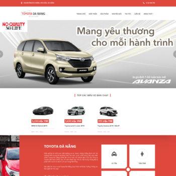 Mẫu Bán Hàng Xe Toyota Đà Nẵng