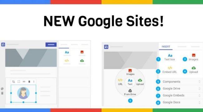 hướng dẫn thiết kế website miễn phí với Google sites