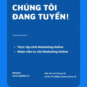Tuyển dụng Nhân viên Tư vấn Marketing Online