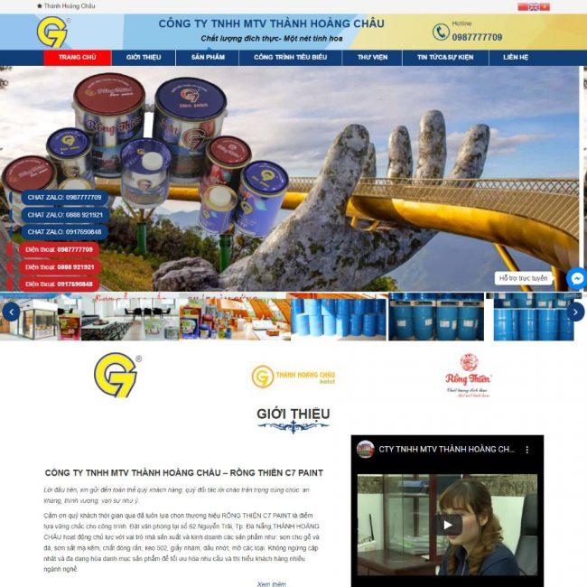 Website sơn Thành Hoàng Châu