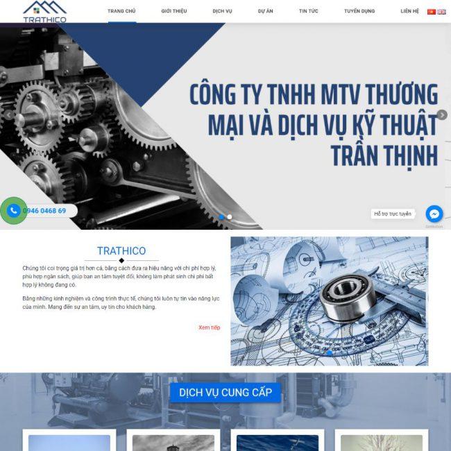 Website điện công nghiệp