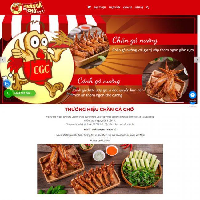 Website Chân Gà Chờ