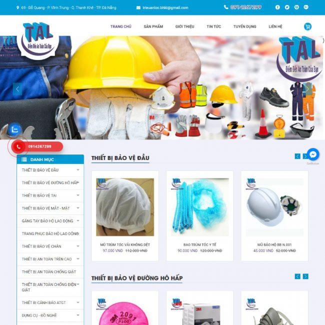 Website Triệu An Lộc