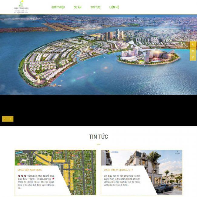 Website Đất nền Miền Trung
