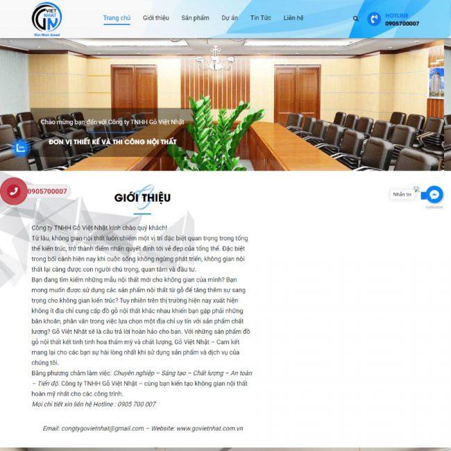 Website Gỗ Việt Nhật