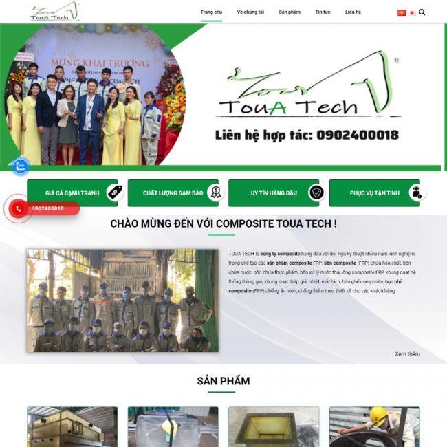 Website Toua Tech