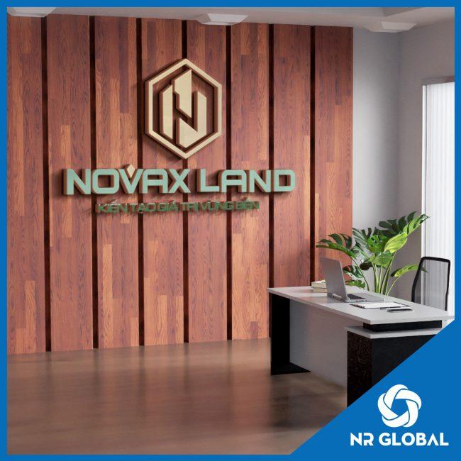Logo Bất động sản Novax Land