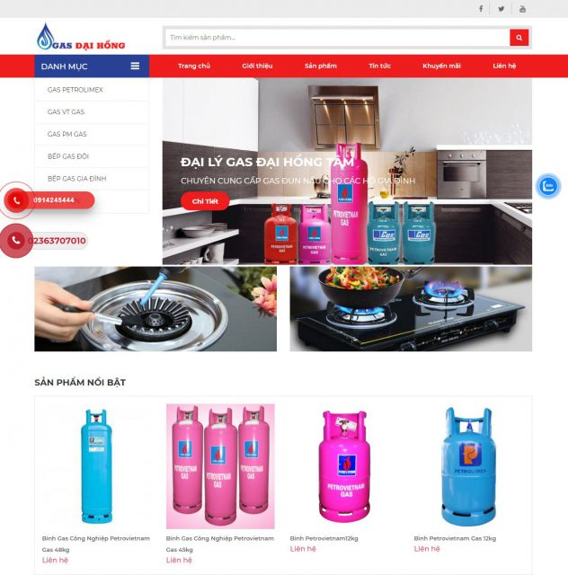 Website Gas Đại Hồng