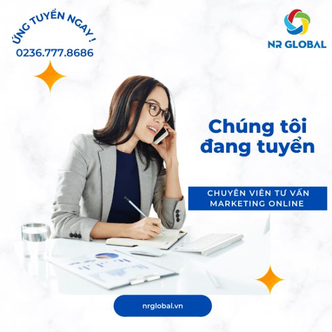NR Global tuyển dụng Chuyên viên Tư vấn Marketing Online