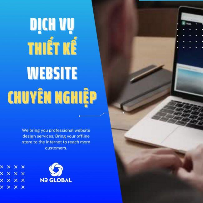 Xây dựng Website chuyên nghiệp cùng NR Global