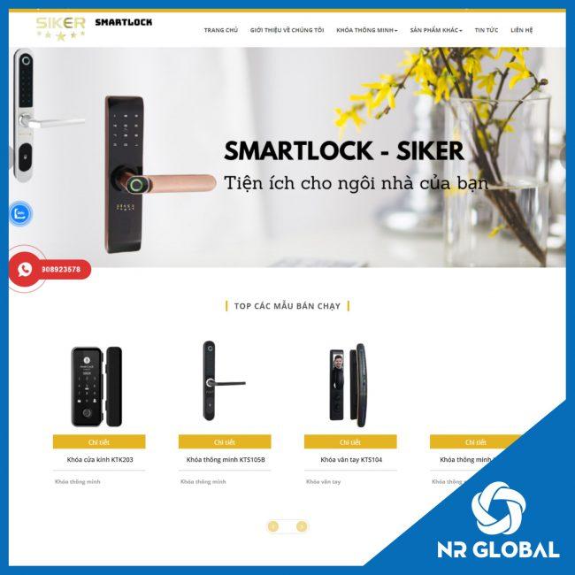Website Khóa Thông Minh Siker
